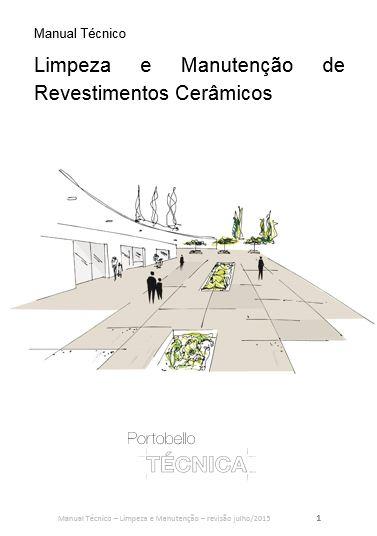 Manual - Limpeza e Manutenção de Revestimentos Cerâmicos