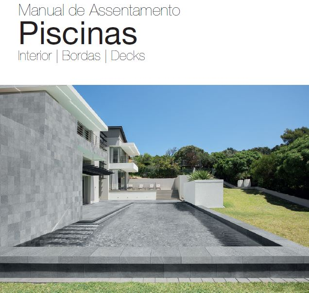 Manual de Assentamento Piscinas Interior | Bordas | Decks